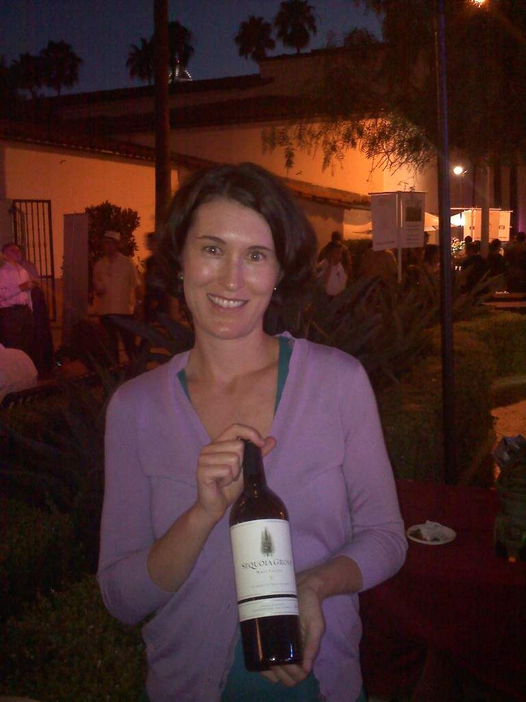 Winemaker Molly Hill of Sequoia Grove Winery in Napa, CA