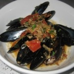 Mussels provencale: shallots, garlic, tomato, thyme, fennel, fresh tarragon and Pernod