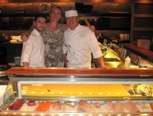 Chefs Greg Fortunato and Kitt Xaiyashiha with Sophie Gayot