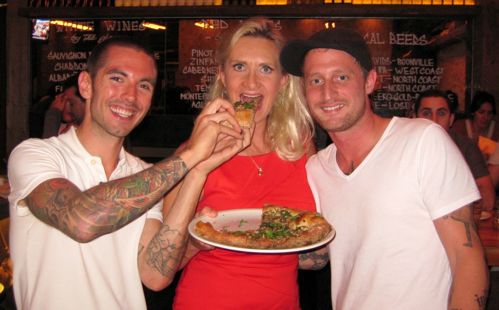 Chefs Jeff Mahin & Michael Voltaggio with Sophie Gayot