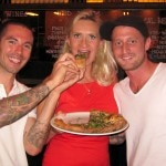 sophie gayot jeff mahin michael voltaggio 150x150 And Chef Jeff Mahin Re Invents Pizza