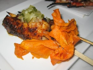 Zapallo: kabocha and sweet miso sauce
