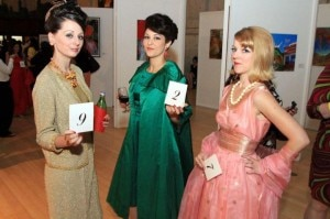 60s clothes la wine event 300x199 Los Angeles Wine Tasting 60s Soiree: Party Like Its 1961!