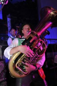 German oompah band