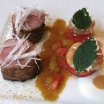 agneau 150x150 LAbeille Restaurant at the Shangri La Hotel, Paris