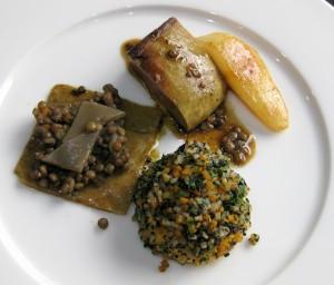 Francis Ogé's winning foie gras