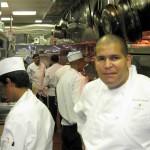 Chef de cuisine Mitchel Ramos