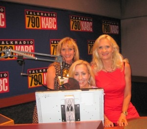 Co-host Denice Fladeboe, Susan Irby The Bikini Chef with Sophie Gayot