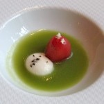 soupe de tomates 150x150 LAbeille Restaurant at the Shangri La Hotel, Paris