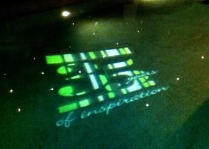Champagne Nicolas Feuillatte's 35th anniversary logo