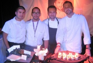 Benjamin Bailly, Mazen Mustafa, Shawn Gawle (Corton), Aaron Grosskopf