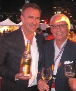 dirk smith gregory balogh 252x300 Dirk Smits & Gregory Balogh, from Maison Marques & Domaines, serving 2004 Cristal