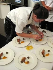 Jessica Largey plating