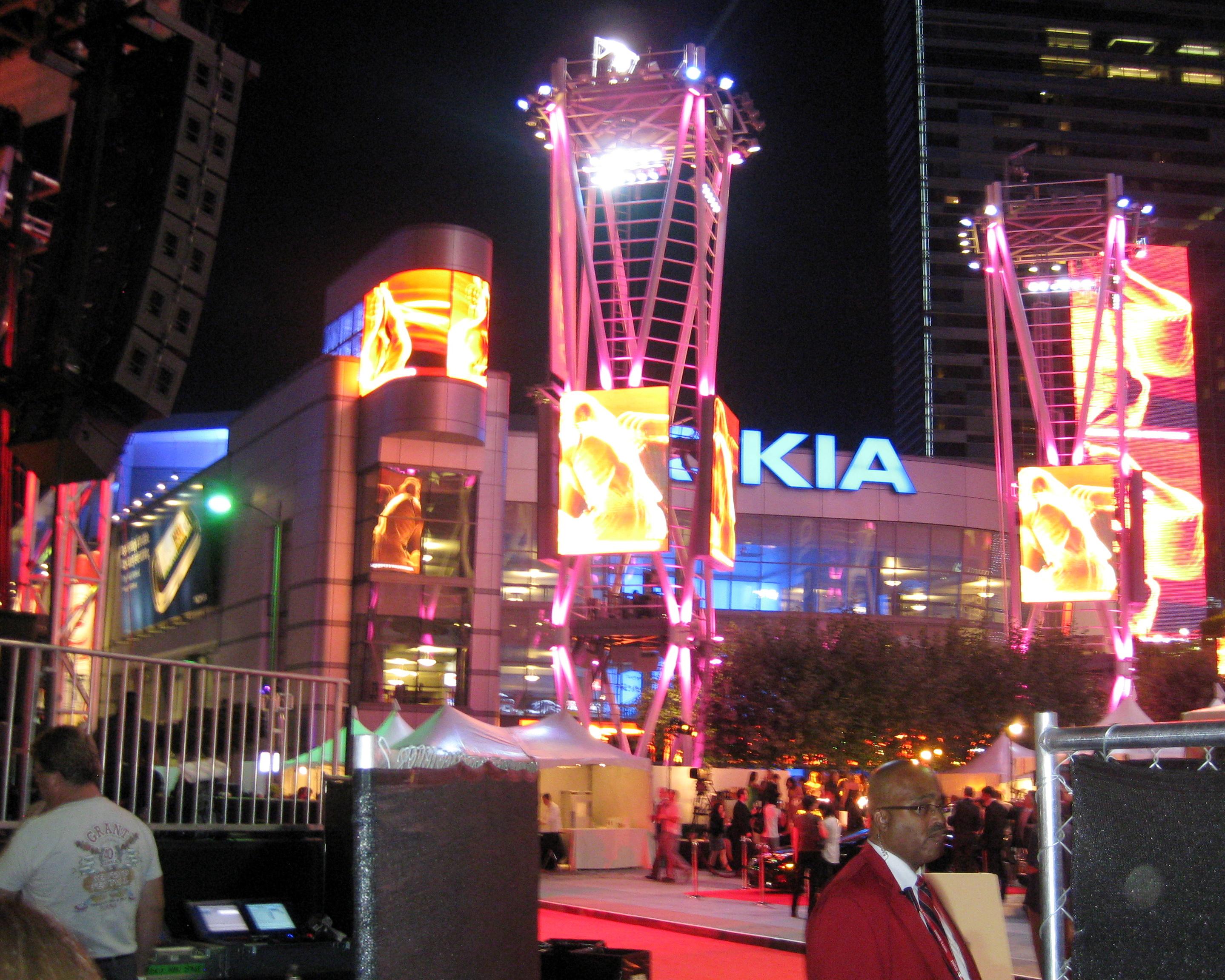 Hotels Near Nokia La Live