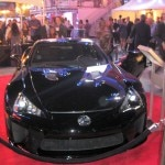 Lexus LFA, major sponsor of the event