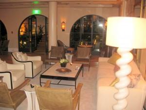 Lobby lounge corner