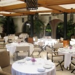 patio restaurant 150x150 Hotel Bel Air Reopens With Great Luxury