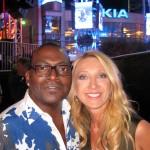 Randy Jackson with Violette Gnyp
