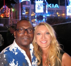 Randy Jackson with Violette Gnyp