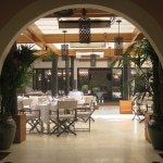 restaurant view from booths 150x150 Hotel Bel Air Reopens With Great Luxury