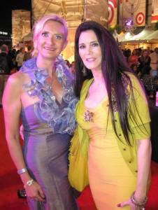 Barbara Lazaroff with Sophie Gayot