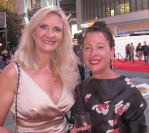 Nancy Silverton (Mozza) with Sophie Gayot