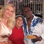 sophie gayot randy jackson 150x150 Food & Wine at L.A. LIVE