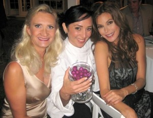 Hasty Torres, Madame Chocolat; Actress Teri Hatcher (Desperate Housewives); with Sophie Gayot