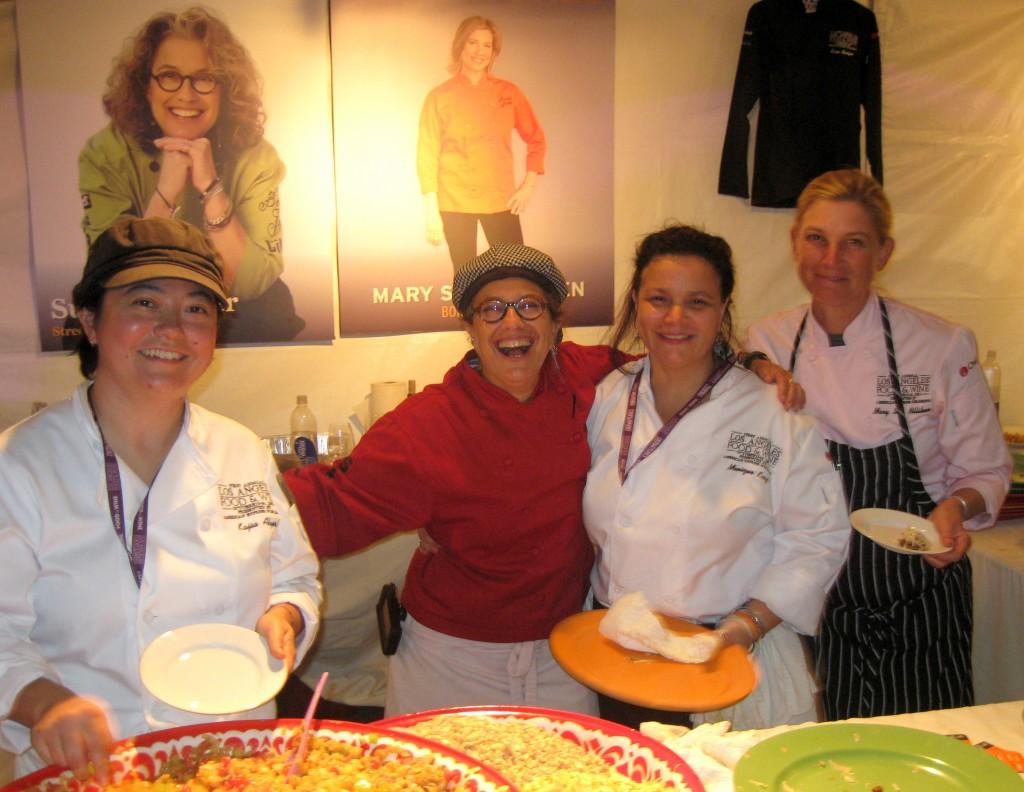 Kajsa Alger, Susan Feniger, Monique King, Mary Sue Milliken (STREET, Border Grill)