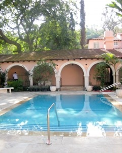 swimming pool presidential suite 240x300 Hotel Bel Air Reopens With Great Luxury