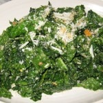 Tuscan kale with lemon, Parmesan and bread crumb