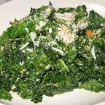 Tuscan kale with lemon, Parmesan and bread crumb