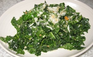 tuscan kale 300x183 Tuscan kale with lemon, Parmesan and bread crumb
