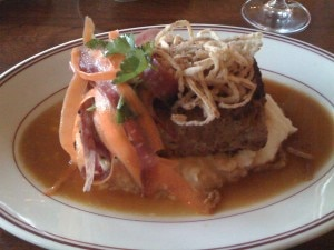 meatloaf 300x225 Presidio Social Club: From Army Barrack to Fine Dining