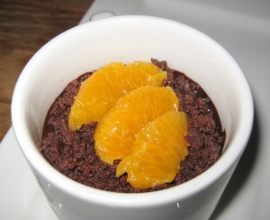 orange cream panna cotta 300x244 Orange cream panna cotta with blood orange and dark chocolate crumble