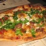 pizza sausage egg 150x150 An Italian Affair in West Hollywood