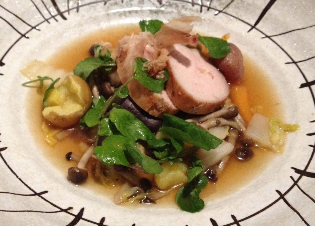 Roasted Kurobuta pork