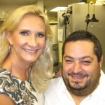 Chef Eric Greenspan with Sophie Gayot