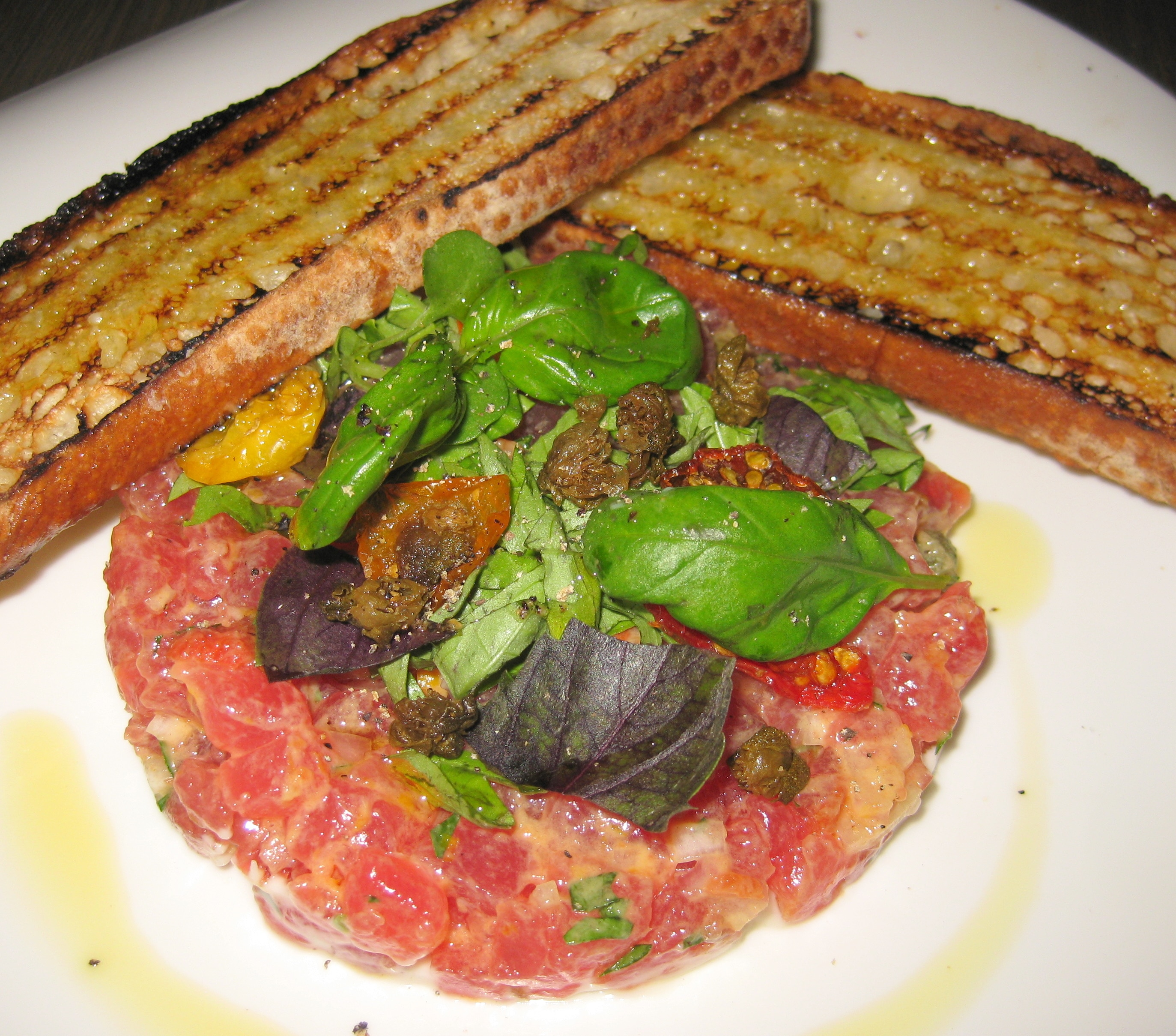 ... avocado tuna tomato and basil tartare recipe yummly basil tuna tomato