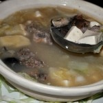 Beijing duck soup