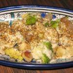Cauliflower, tarma and hazelnut