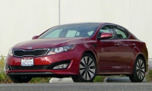 The Kia Optima SX Turbo