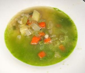 pistou soup 300x257 Soupe au pistou