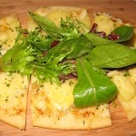 """Camille's"" potato and rosemary flat tart"