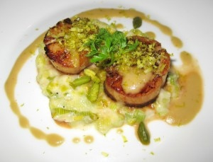 seared scallops 300x229 Seared scallops