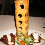 Brasato Piemontese: Boneless beef short ribs braised in an Italian Barolo reduction topped with horseradish