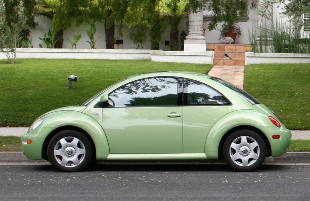 The Volkswagen New Beetle, designed by Peter Schreyer