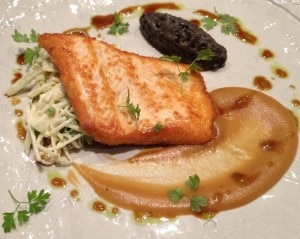 arctic char 300x239 Lunch at Michael Mina's