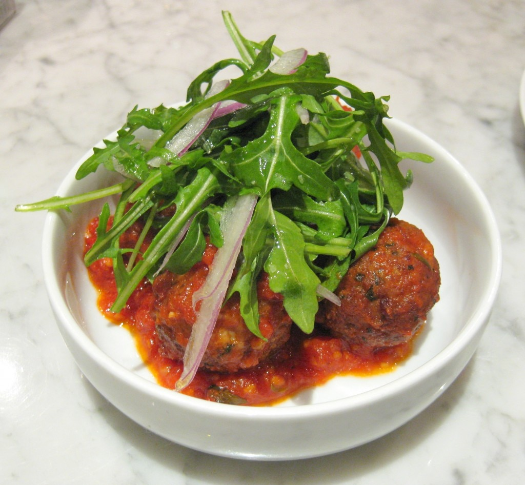 Free range chicken meatballs