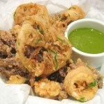 fried calamari 150x150 A Newborn in Santa Monica